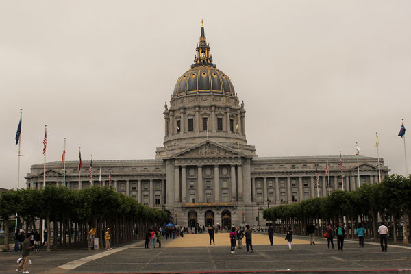 LA CITY HALL SAN FRANCISCO CALIFORNIE