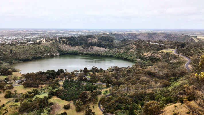 VALLEY LAKE ANCIEN VOLCAN A MOUNT GAMBIER SOUTH AUSTRALIA AUSTRALIE