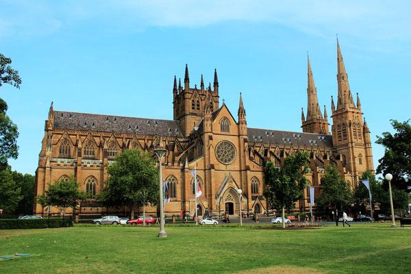 LA CATHEDRALE SAINTE MARYS DE SYDNEY AUSTRALIE