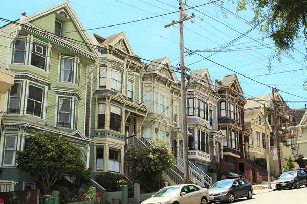 MAISONS VICTORIENNE A CASTRO SAN FRANCISCO CALIFORNIE