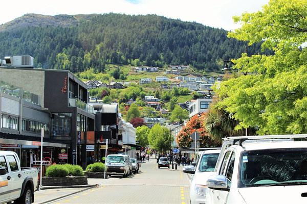 CENTRE DE QUEENSTOWN ILE DU SUD NZ