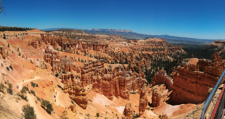 PANORAMIQUE A SUNSET POINT NAVARO LOOP TRAIL BRYCE CANYON NP UTAH