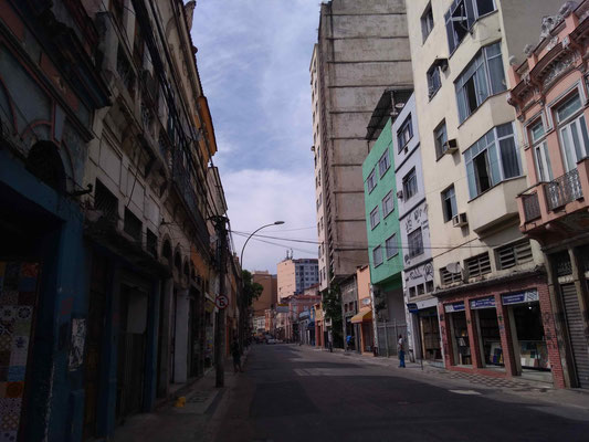 LA RUE DE SENADO A RIO DE JANEIRO BRESIL