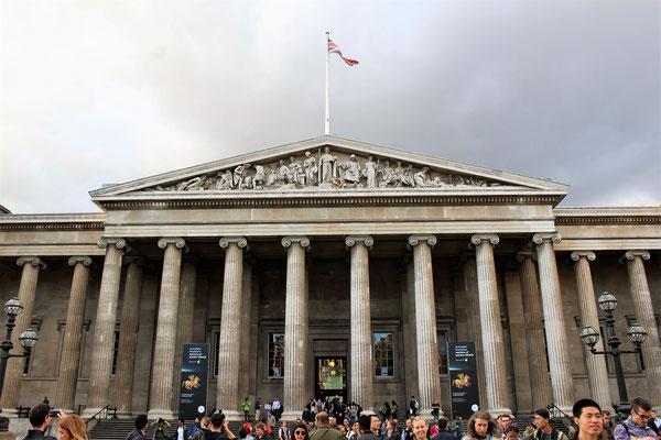 FACADE DU BRITISH MUSEUM