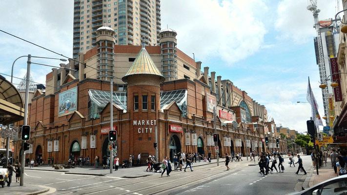 LE CITY MARKET SYDNEY AUSTRALIE