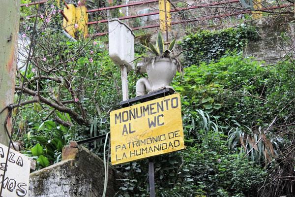 WC AU PATRIMOINE DE L'HUMANITE....VALPARAISO CHILI