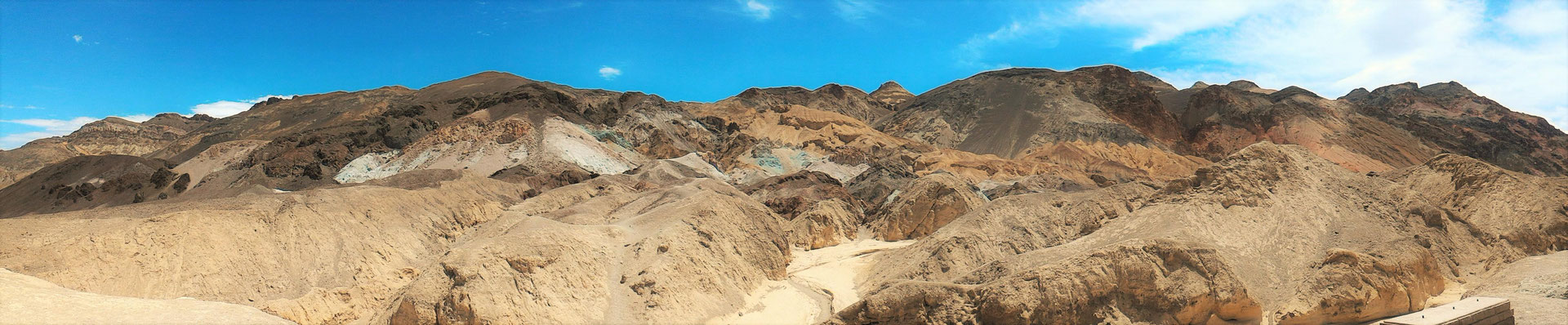 PANORAMIC ARTISTS PALETTE SUR ARTISTE DRIVE DEATH VALLEY  NP  CALIFORNIE