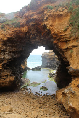 LE GROTTO SUR LA GREAT OCEAN ROAD AUSTRALIE