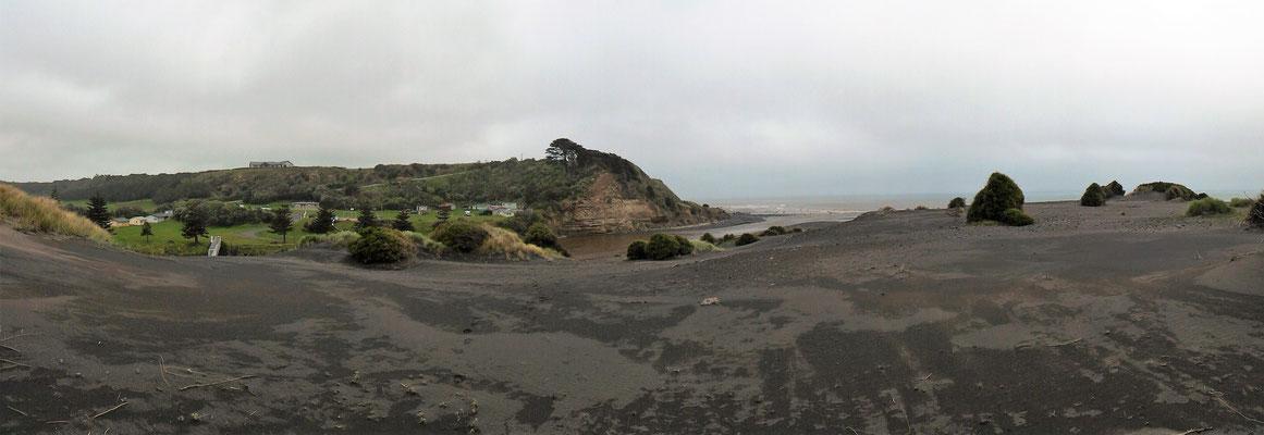 PANORAMIQUE KAUPOKONUI BEACH ILE DU NORD NZ