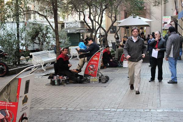 CIREURS DE CHAUSSURES  SANTIAGO CHILI