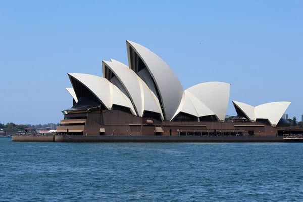 L'OPERA DEPUIS QUARTIER THE ROCKS  SYDNEY AUSTRALIE