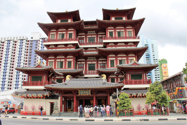 LE BOUDDHA TOOTH RELIC TEMPLE A CHINATOWN A SINGAPOUR