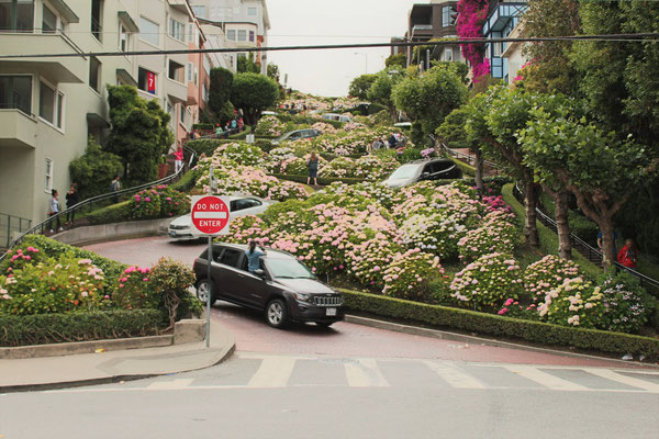 LA LOMBART STREET SAN FRANCISCO CALIFORNIE