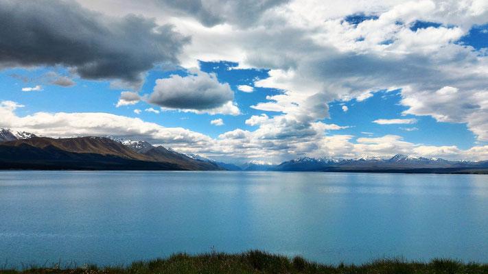 LAC PUKAKI ET ALPES NZ ILE DU SUD NZ