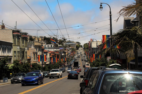 A CASTRO STREET SAN FRANCISCO CALIFORNIE
