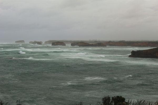 LA BAIE DES MARTYRS SUR LA GREAT OCEAN ROAD AUSTRALIE