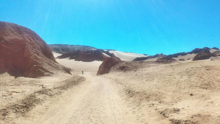 VALLEE DE LA MORT ET DUNE POUR SNOW SAN PEDRO DE ATACAMA CHILI