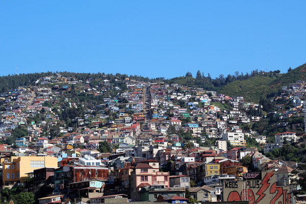 COLLINES VALPARAISO CHILI