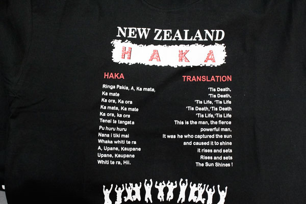 LE HAKA TRADUCTION AUCKLAND ILE DU NORD NZ