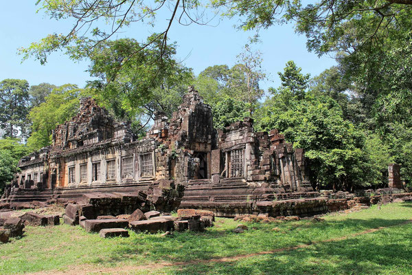 LE TEMPLE NORD KLEANG AUX TEMPLES D'ANGKOR AU CAMBODGE