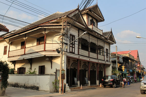 MAISONS ANCIENNE TYPE LANNA A LAMPANG THAILANDE