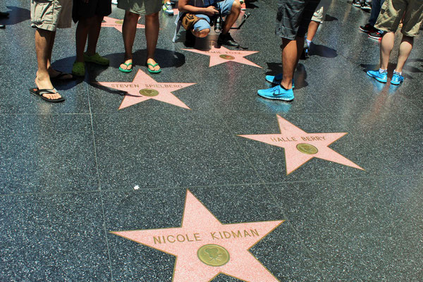 WALK OF FAME HOLLYWOOD LOS ANGELES CALOFORNIE