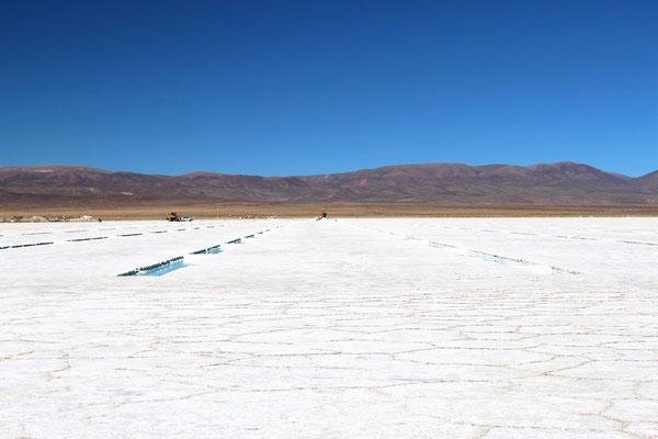 LES SALINES GRANDES ROUTE NORD SALTA ARGENTINE