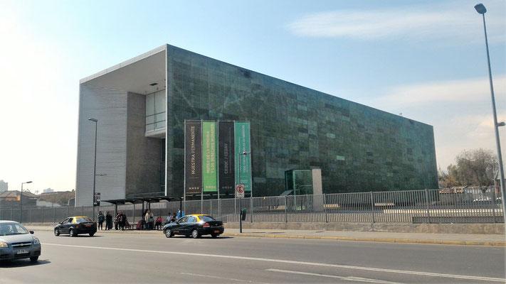 MUSEE DE LA MEMOIRE ET DES DROITS DE L'HOMME SANTIAGO CHILI