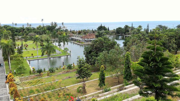 PARTIE SUP DU TEMPLE TAMAN UGUNG PALACE BALI