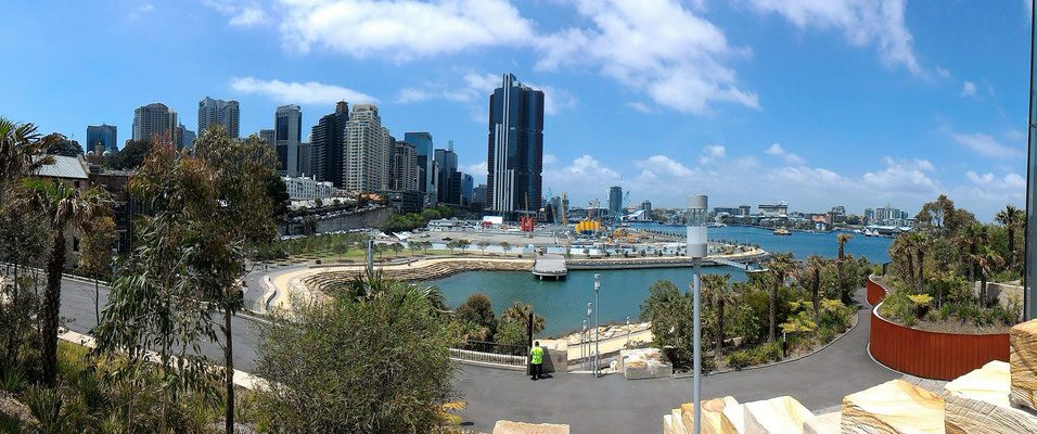 PANORAMIQUE SUR DARLING HARBOUR  DEPUIS HARBOUR CONTROL TOWER SYDNEY AUSTRALIE
