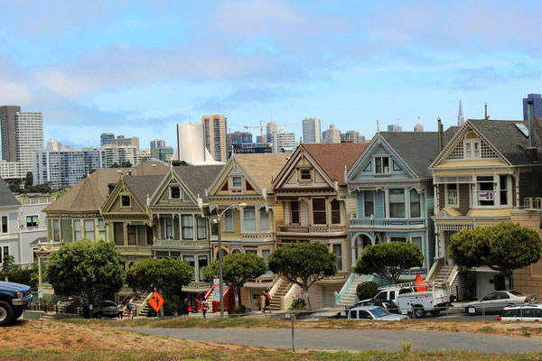 LES PAINTED LADIES SAN FRANCISCO CALIFORNIE