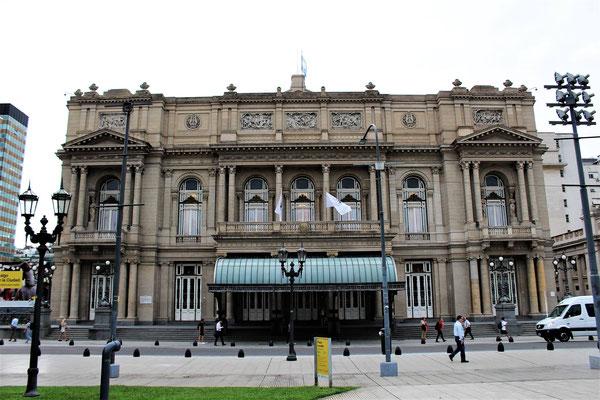 LE THEATRE COLON COTE PARC GRAL LAVALLE A BUENOS AIRES ARGENTINE