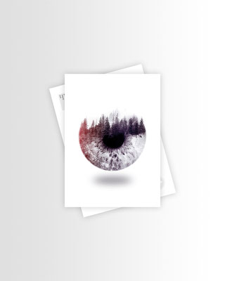 Schwarzwald Postkarte Nature's Eye