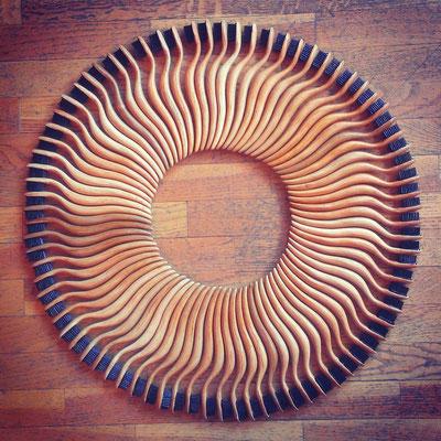 brosses en faux bois avec poils de sangliers !