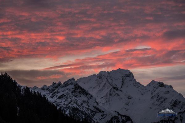 sun rise at Rotwand