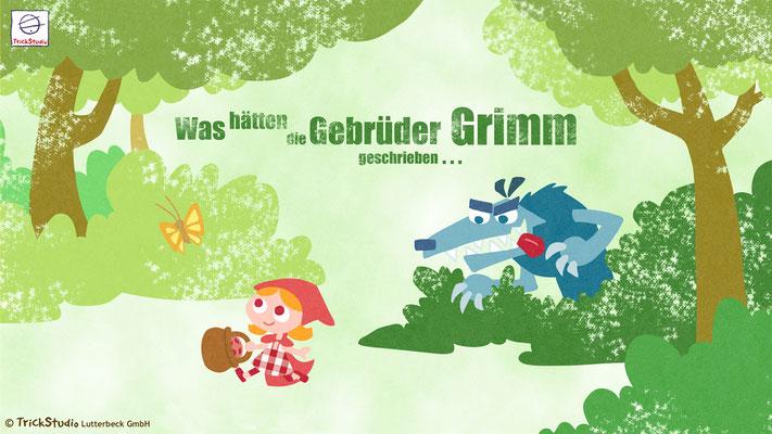 """""""Internationales Jahr des Waldes 2011"""" (Kinospot) - ergänzendes Charakter-Design, ergänzendes Hintergrund-Design, Koloration"""
