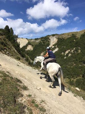 2018, Wanderritt Val Mora mit Eddie