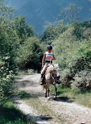 1999, Domat Ems DRF 63 km mit Gülsary
