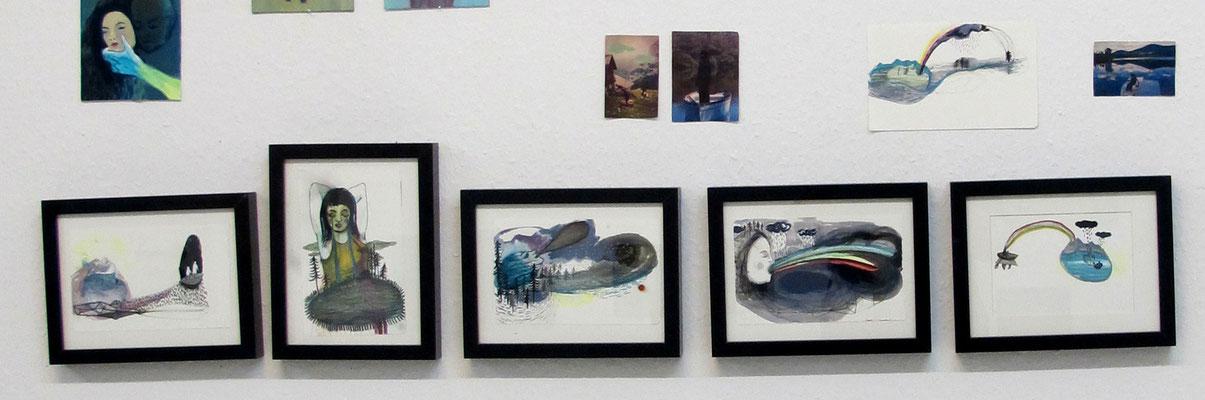 Ausstellung im Atelier // Sept 15
