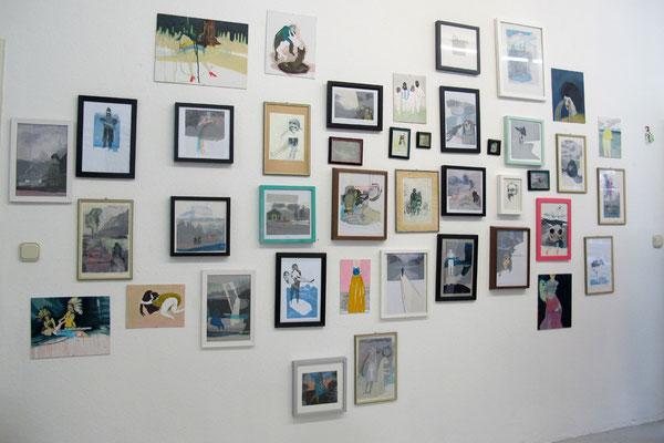 Ausstellung im Atelier // Dez 13