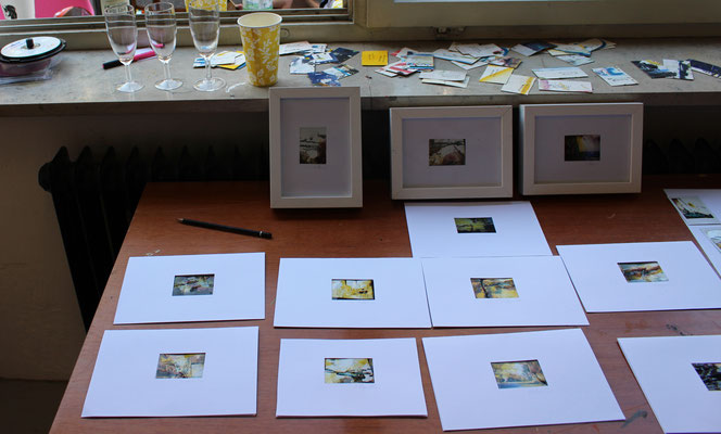 Ausstellung im Atelier // Sept 16