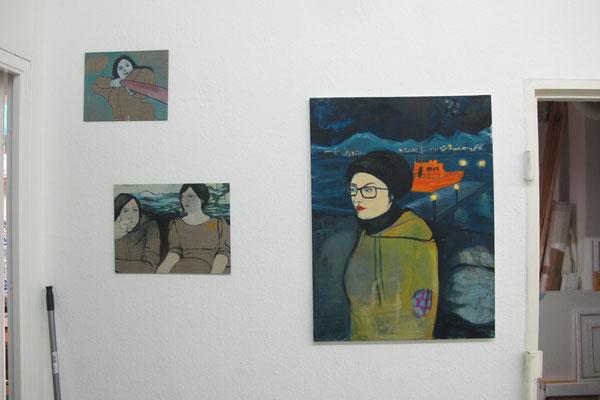 Ausstellung im Atelier // Sep 13