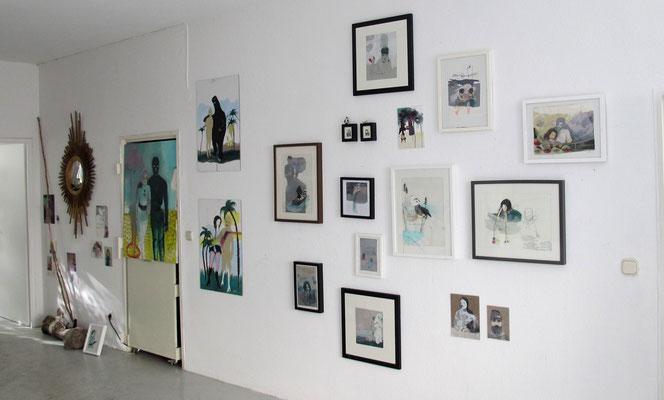 Ausstellung im Atelier // Sept 14