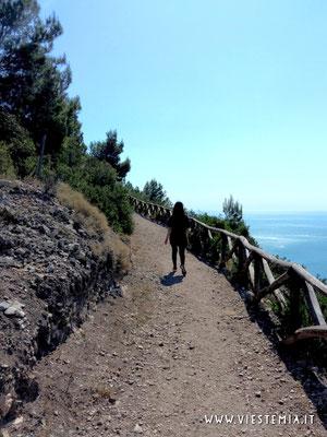 una parte del sentiero