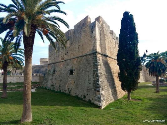 Manfredonia, castello svevo