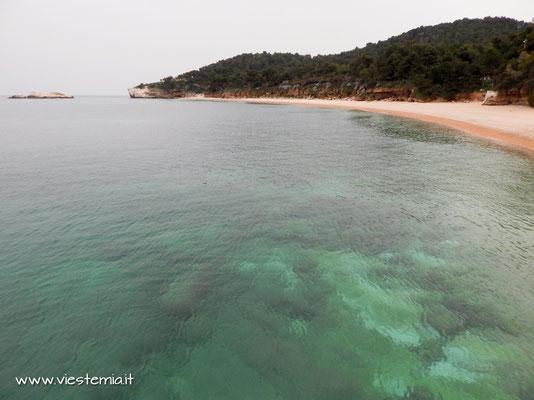 la spiaggia di baia di Campi