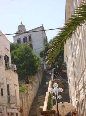 centro storico di Vieste