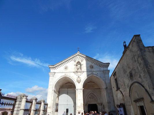 l'entrata principale al Santuario