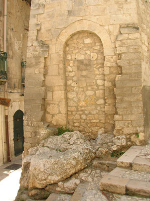 Chianca amara, centro storico di Vieste