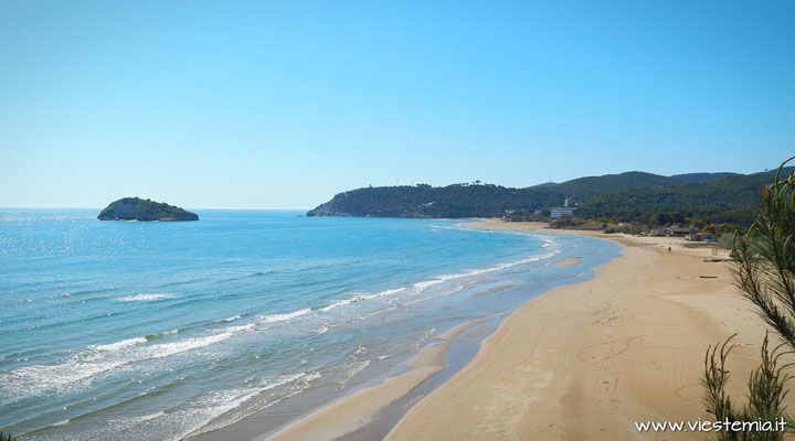 Vieste, spiaggia di Portonuovo